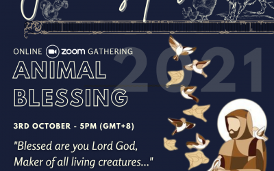 Animal Blessing – 3rd Oct (Online Zoom Gathering)