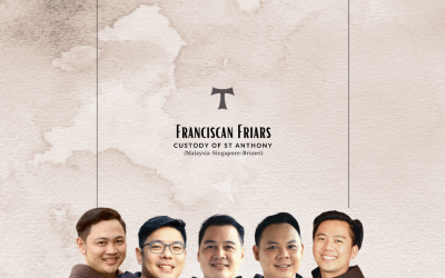 5 Friars Will be Ordained as Deacons